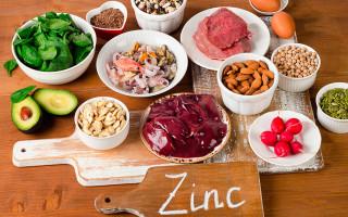 В каких продуктах содержится цинка больше всего — таблица