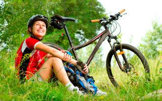 Количество калорий, сжигаемых при езде на велосипеде