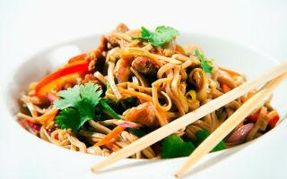 Рисовая лапша и фунчоза — отличия, способ приготовления, полезные свойства