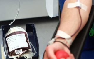 Диета перед сдачей крови для доноров