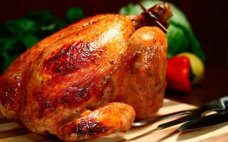 Курица-гриль — калорийность и содержание БЖУ