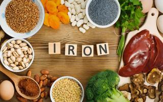Содержание железа в продуктах питания — список