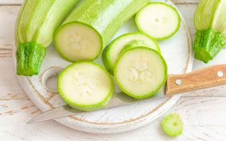 Рецепты диетических блюд из кабачков для похудения