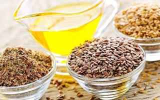 Семена льна для очистки организма — как принимать?