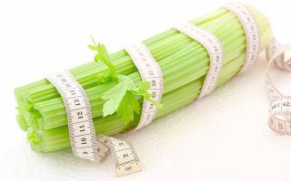 Сельдереевая диета — меню на 7 дней