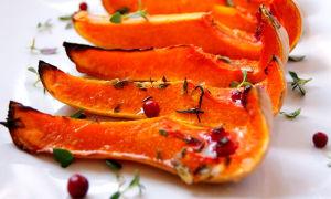 Тыква, запеченная в духовке — калорийность и полезные свойства