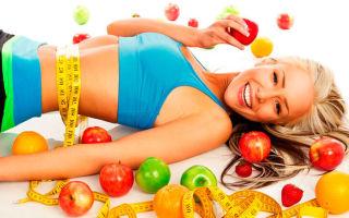 Необходимая суточная норма калорий для похудения