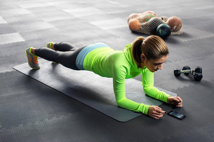 Эффективность планки для похудения