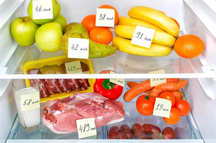 Подсчет калорий для похудения - использование калькулятора готовых продуктов