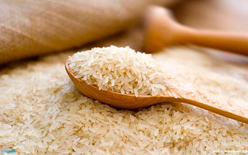 Химический состав риса
