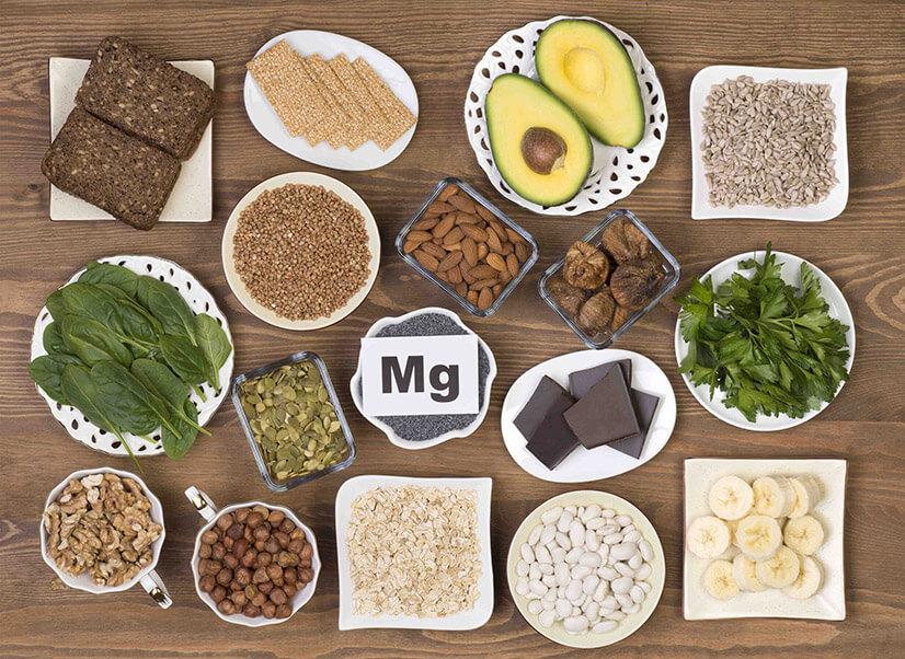 Содержание магния в продуктах питания в большом количестве - таблица
