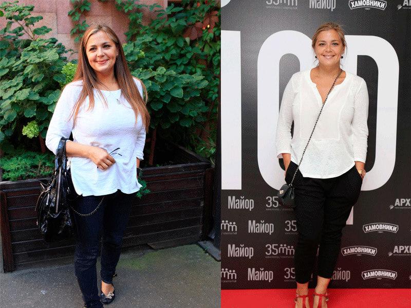 Как похудела Ирина Пегова - фото до и после