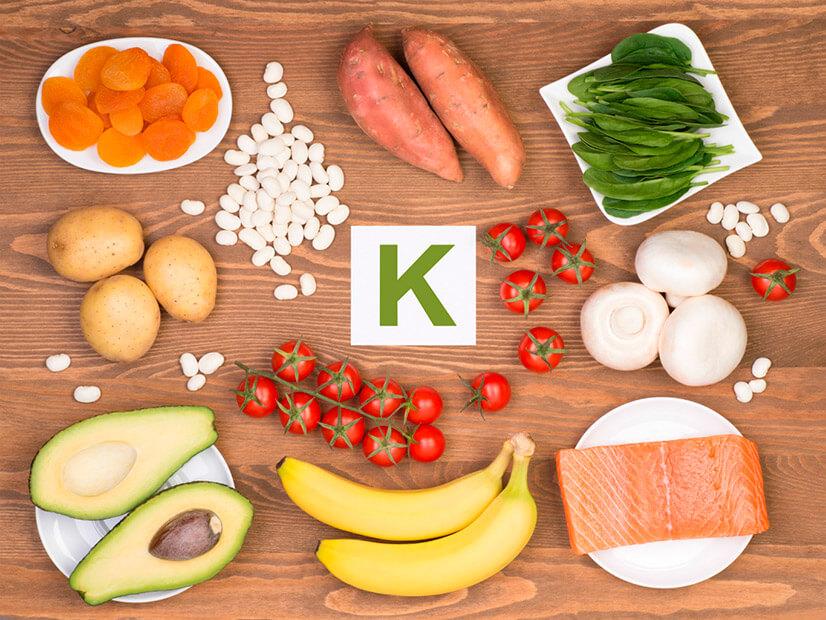 В каких продуктах содержится большое количество калия?
