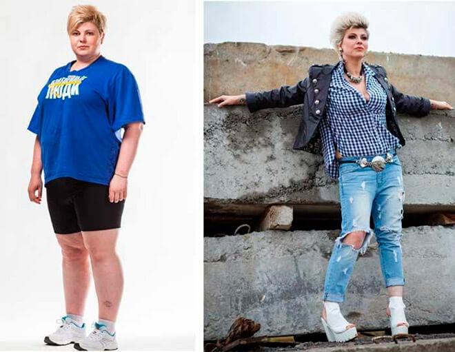 Фото Весты до и после похудения на проекте «Взвешенные люди»