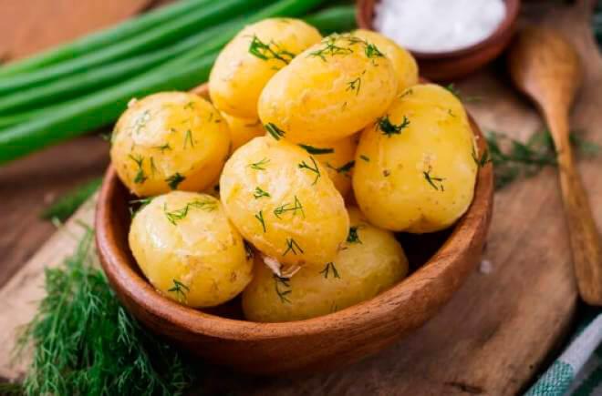 Калорийность варенной картошки