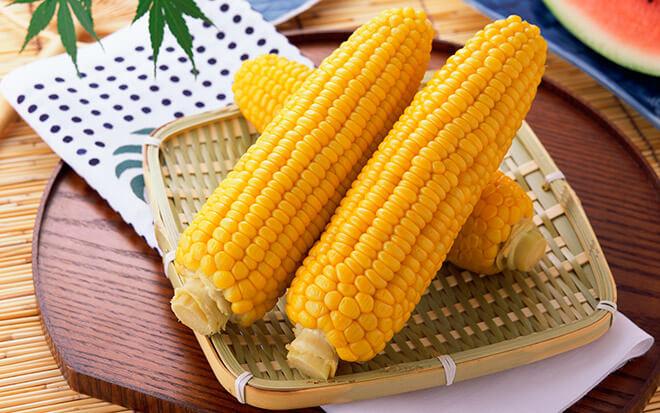 Калорийность вареной кукурузы